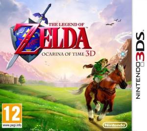 The Legend of Zelda - Ocarina of Time 3D - cover