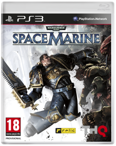 Warhammer 40.000 - Space Marine - cover