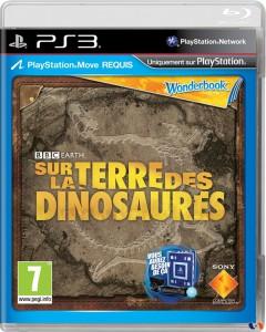 Wonderbook - Sur la Terre des Dinosaures - cover