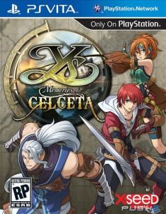 Ys - Memories of Celceta - cover