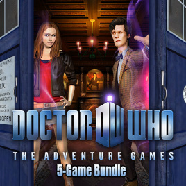 Doctor Who - The Adventure Games - cover