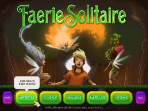 Faerie Solitaire - cover