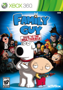 Family Guy - Back to the Multiverse - cover