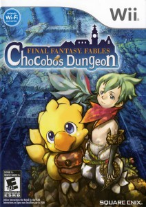 Final Fantasy Fables - Chocobo's Dungeon - cover