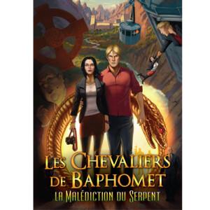 Les Chevaliers de Baphomet - La Malédiction du serpent - cover