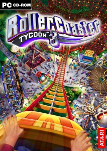 RollerCoaster Tycoon 3 - cover