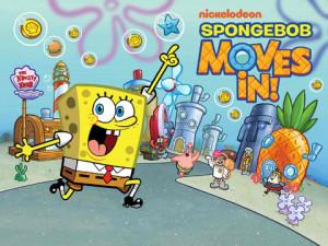 SpongeBob Moves In - logo