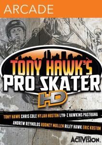 Tony Hawk's Pro Skater HD - cover