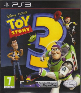 Toy Story 3 - The Video Game - cover
