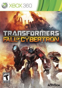 Transformers - Fall of Cybertron - cover