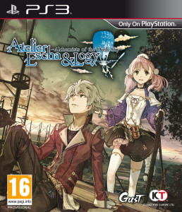 Atelier Escha & Logy - Alchemists of the Dusk Sky - cover