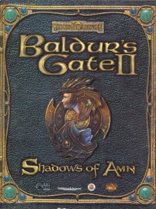 Baldur's Gate II - Shadows of Amn - cover