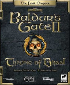 Baldur's Gate II - Throne of Bhaal - cover