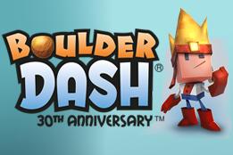 Boulder Dash – 30th Anniversary - logo