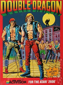Double Dragon - cover atari