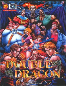 Double Dragon - cover neogeo
