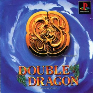 Double Dragon - cover ps1