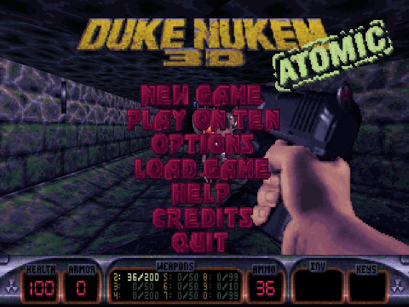Duke Nukem 3D Classic - Graal.fr