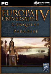 Europa Universalis IV - Conquest of Paradise - cover