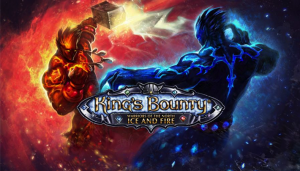 King's Bounty - Warriors of the North - Ice and Fire - logo
