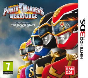 Power Rangers Megaforce - cover