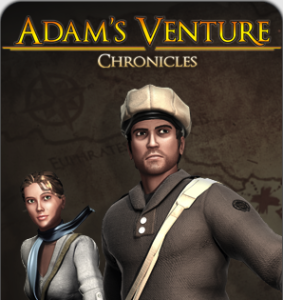 Adam's Venture Chronicles - logo