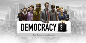 Democracy 3 - logo