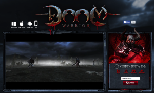 Doom Warrior - logo
