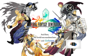Final Fantasy Dimensions - logo