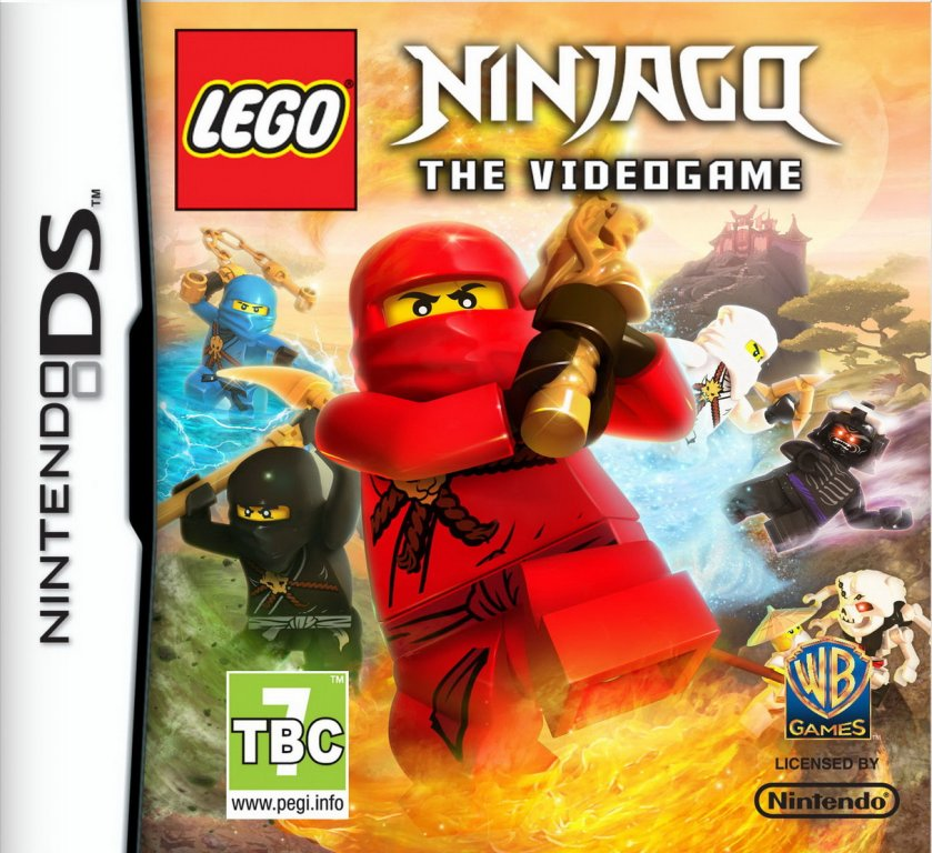 lego ninjago le jeu video cover