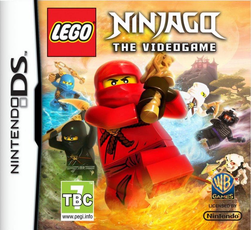 lego ninjago le jeu video cover - Jeux De Lego Ninjago Spinjitzu