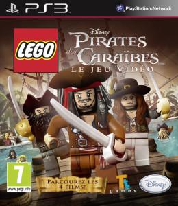Lego Pirates des Caraïbes, le jeu vidéo- cover