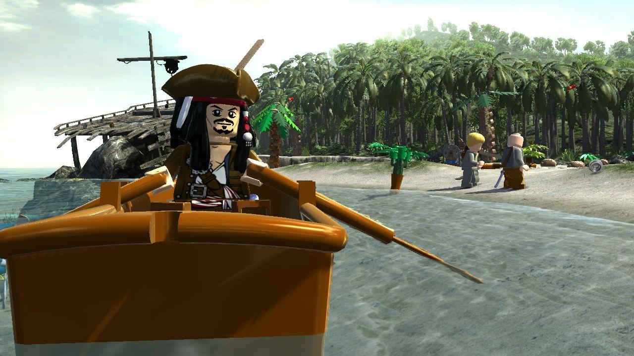 Lego Pirates des Caraïbes, le jeu vidéo
