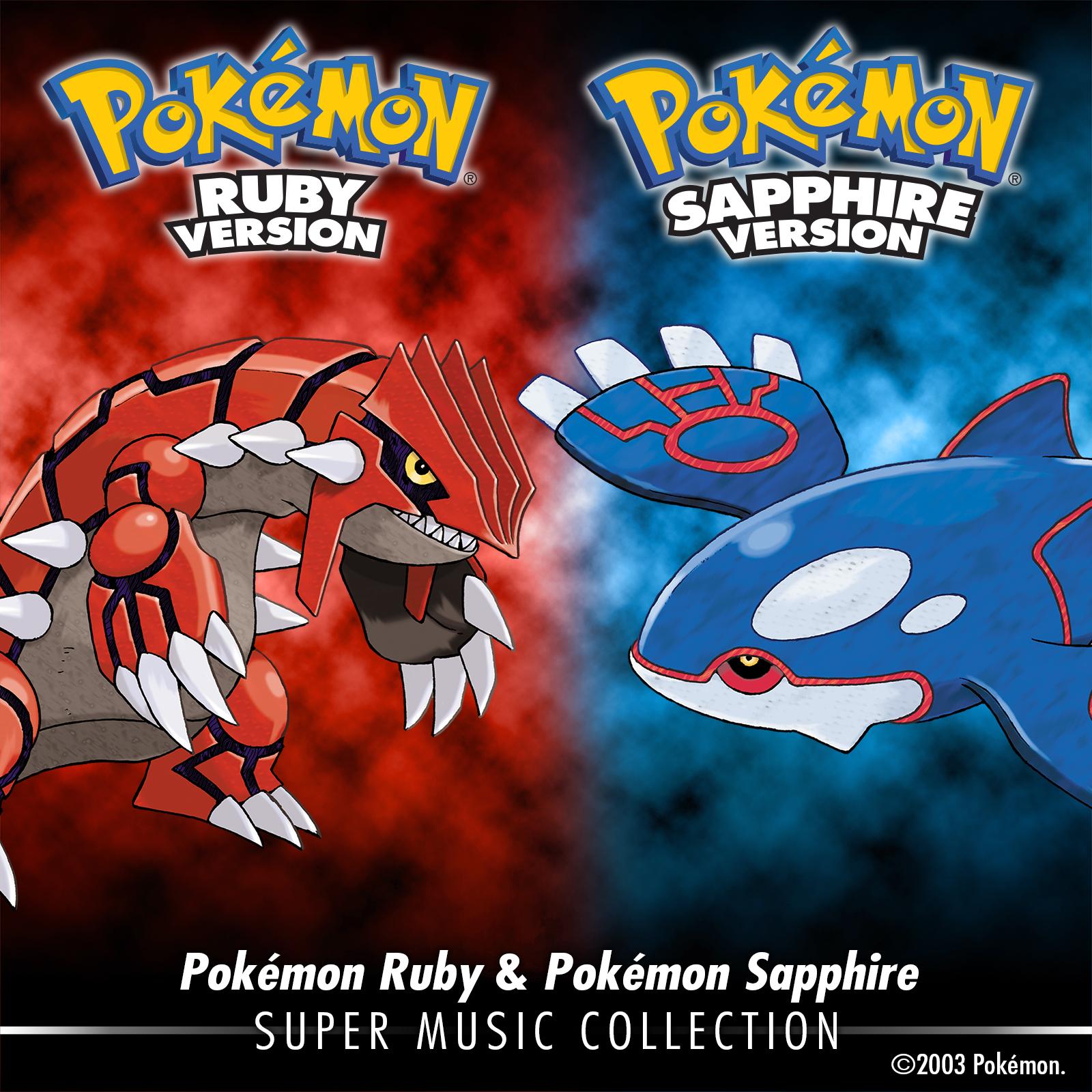 Pokémon Ruby & Pokémon Sapphire : Super Music Collection par Game Freak