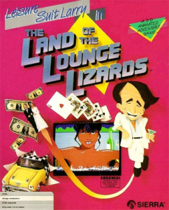 Leisure Suit Larry in the Land of the Lounge Lizards - cover