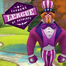 Supreme League of Patriots - logo