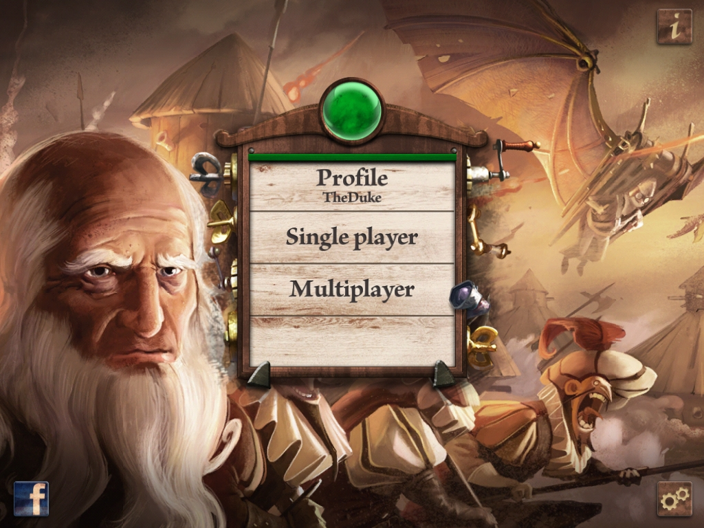 [TEST] Da Vinci's Art of War – la version pour iPad