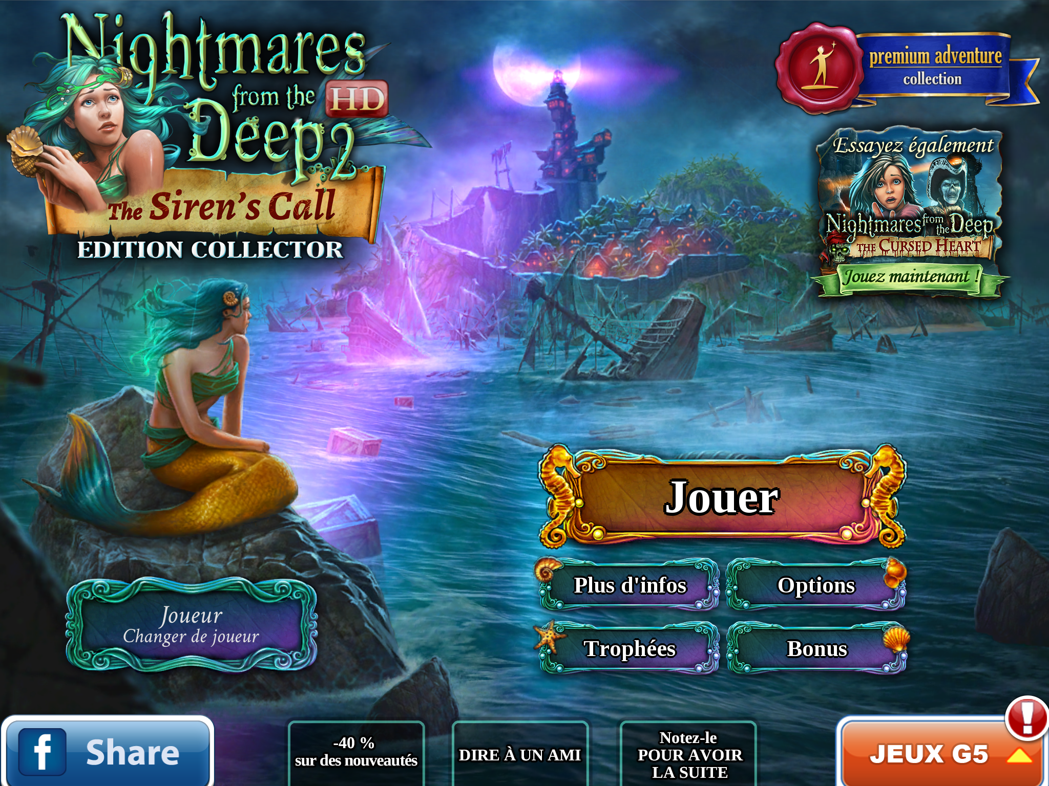 [TEST] Nightmares from the Deep : The Siren's Call – la version pour iPad