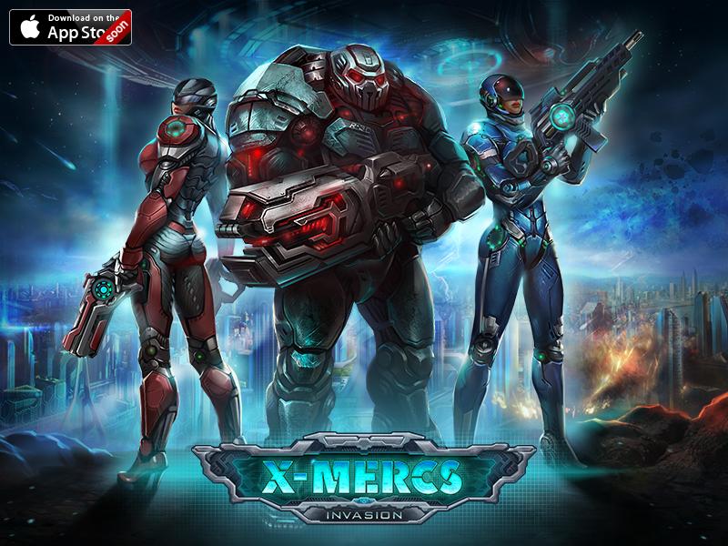 X-Mercs : Invasion