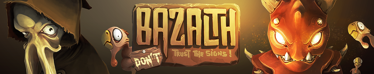Bazalth - Don't trust the signs - logo