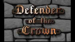 Defender of the Crown - logo