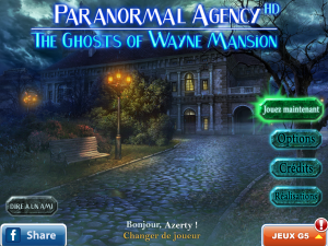 Paranormal Agency 2 - The Ghosts of Wayne Mansion - logo