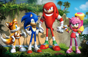 Sonic Boom - 4 heroes