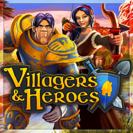 Villagers and Heroes - logo