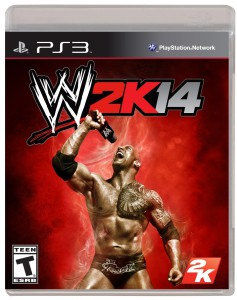 WWE 2K14 - cover