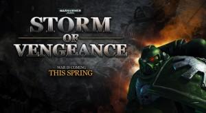 Warhammer 40.000 - Storm of Vengeance - logo