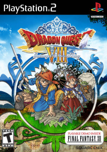 Dragon Quest VIII - L'Odyssée du roi maudit - cover