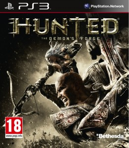 Hunted - The Demon's Forge - cover