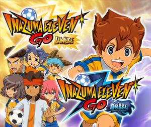 Inazuma Eleven GO - Lumière et Inazuma Eleven GO - Ombre - cover