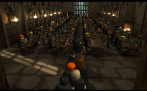 LEGO Harry Potter - Années 1 à 4 - réfectoire de Poudlard